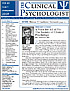 Fall 2012 The Clinical Psychologist is Posted