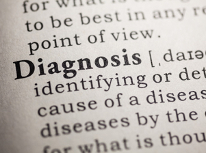 Fake Dictionary, Dictionary definition of the word diagnosis.
