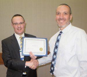 Dr. Karlin and Dr. Josh Miller